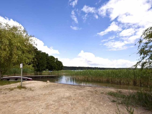 Campingplatz Uferzone