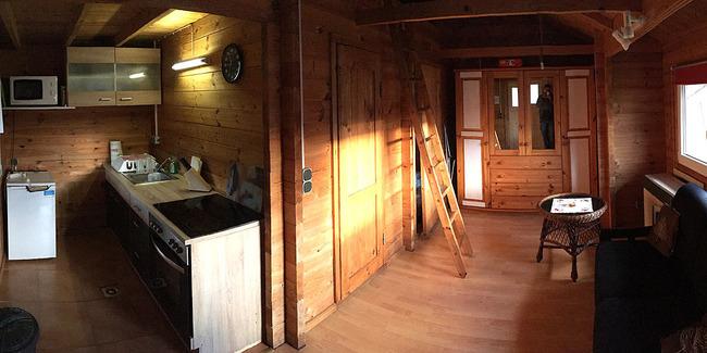 Ferienhaus - Küche und Wonraum