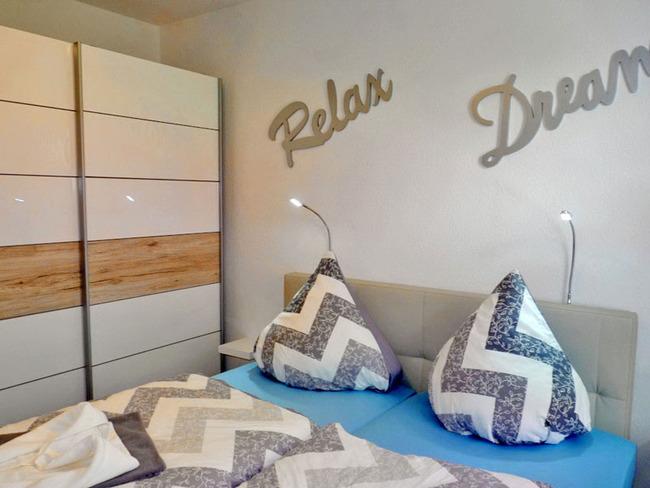 Ferienwohnung Steuerbord - Schlafzimmer
