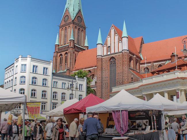 Marktplatz Schweriner dom