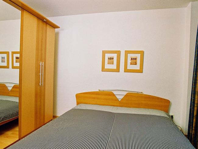 Ferienwohnung Backbord - Schlafzimmer