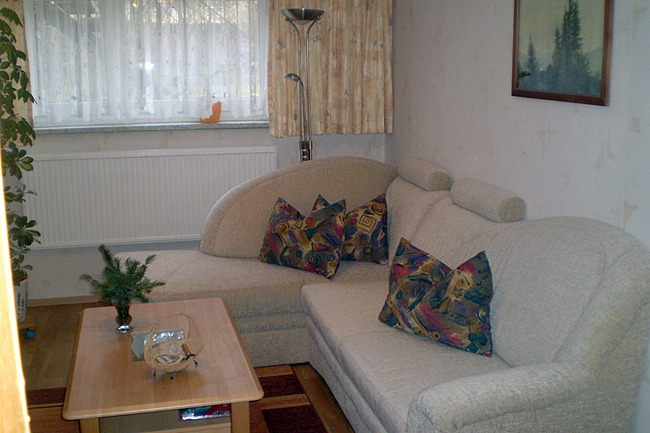 Wohnzimmer große Ferienwohnung