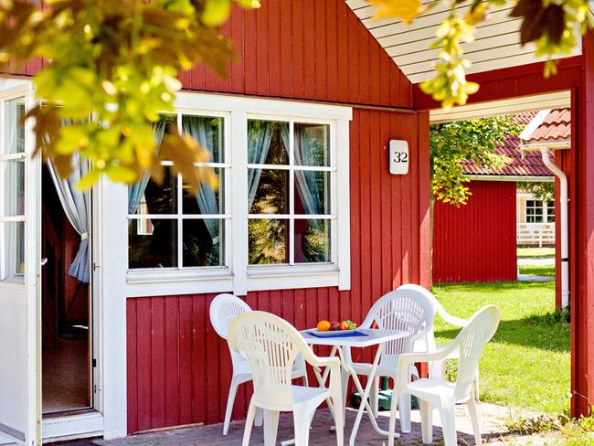 Ferienhaus Warnemünde - Terrasse