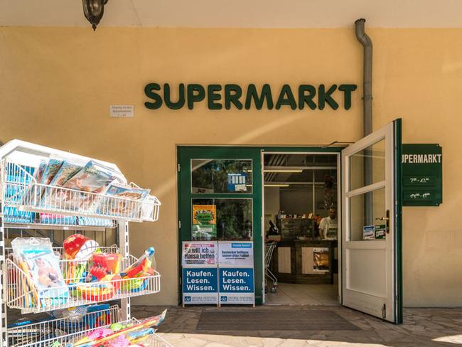 Supermarkt - Eingang