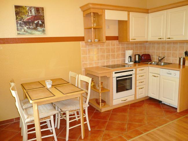 Weiße Rose - Küche