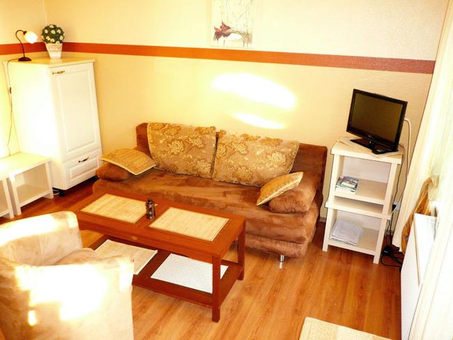 Weiße Rose - Wohnzimmer