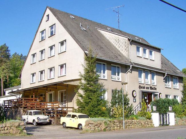 """Außenanlage Gruppenhaus """"Haus am Walde"""""""