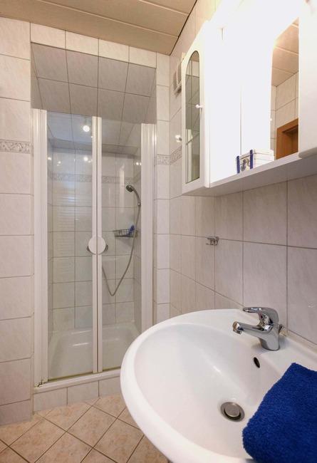Dusche - Appartement im Ferienhaus Nils Boltenhagen