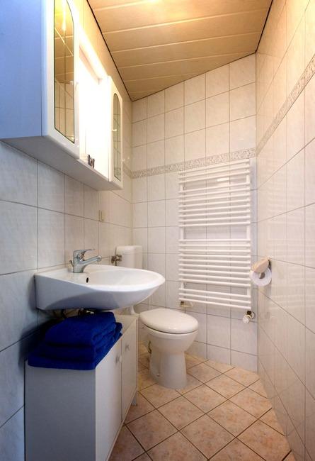 WC - Appartement im Ferienhaus Nils Boltenhagen