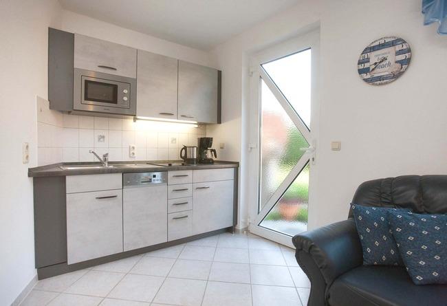 Küchenzeile - Appartement im Ferienhaus Nils Boltenhagen