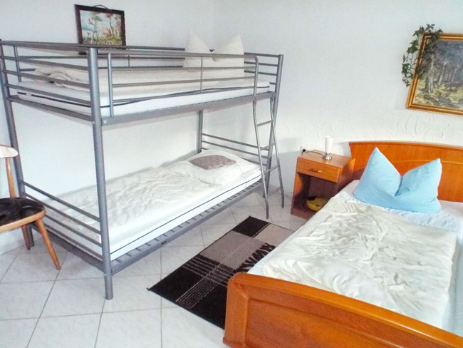 Ferienhaus - Schlafzimmer