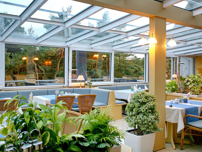 Restaurant - Wintergarten, Terrasse