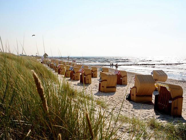 Strandkörbe - Ostsee