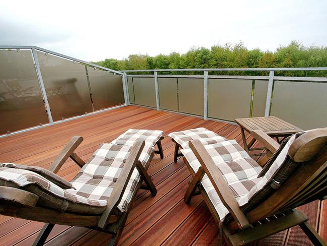 Terrasse - Liegestühle