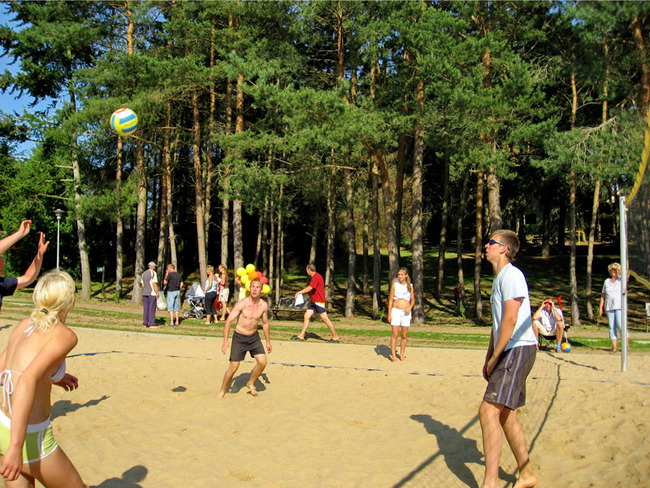 Beachoase - Volleyball im Ferienpark Retgendorf