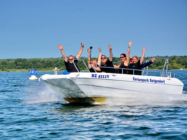 Bootsfahrt auf dem Schweriner See