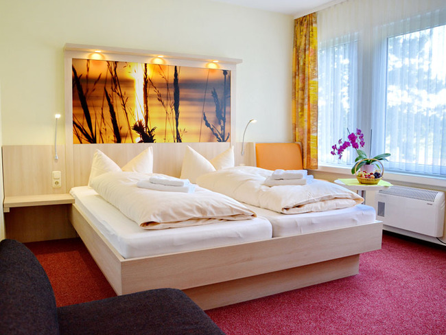 Doppelzimmer im Ferienpark Retgendorf