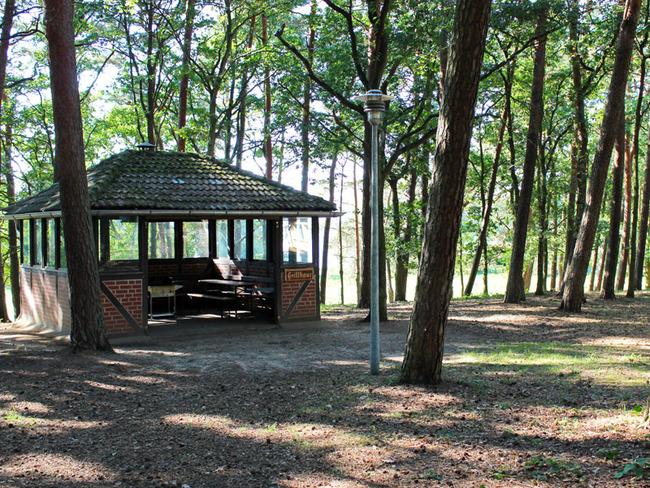 Grillhaus im Ferienpark Retgendorf am Schweriner See