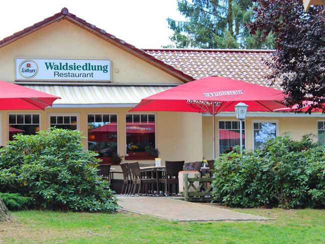 Restaurant - Terrasse im Ferienpark Retgendorf