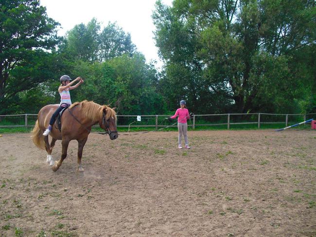 Pferd - Mädchen