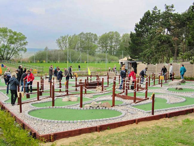 Minigolfanlage im Ferienpark Retgendorf