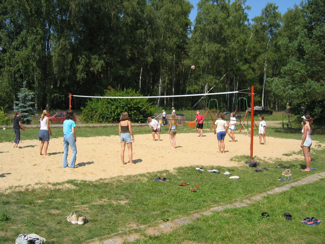 Volleyballfeld
