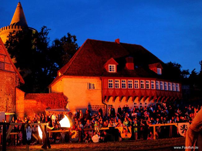 Burgfest - Feuershow