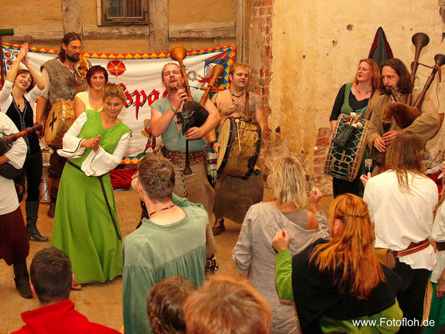 Burgfest - Musiker