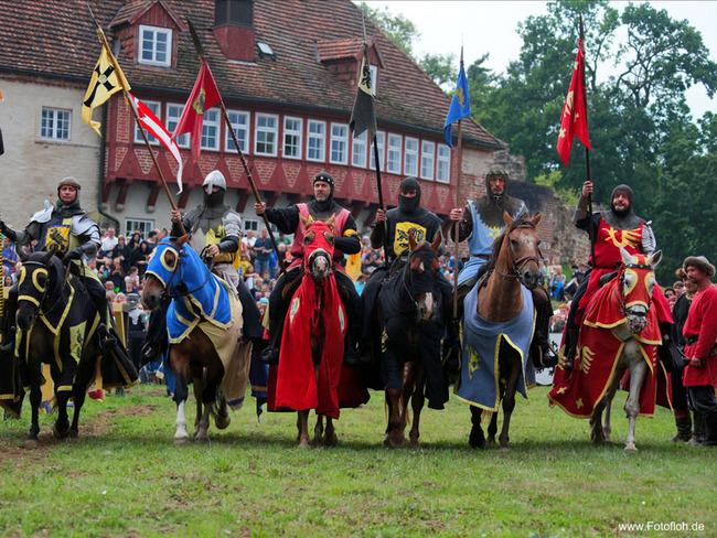 Burgfest - Reiter