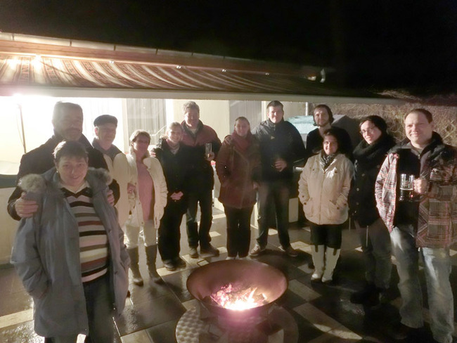 Gäste - Feuerschale im Ferienpark Retgendorf am Schweriner See