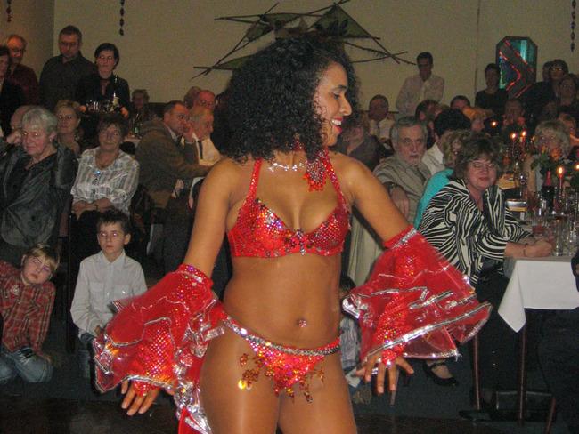 Silvester - Tänzerin