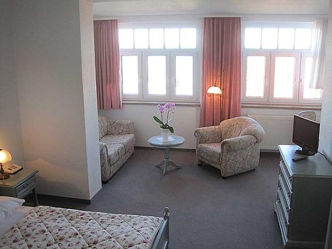 Doppelzimmer mit Couchecke