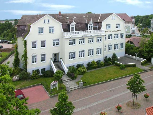Luftbild vom Hotel