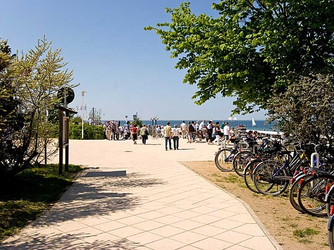 Strandpromenade von Kühlungsborn