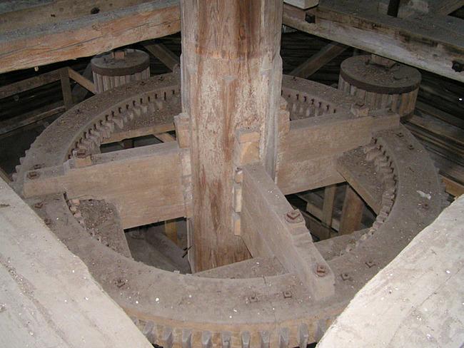 Mahlwerk der Mühle