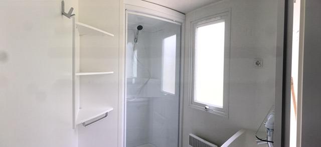 Mobilheim Bad-Dusche