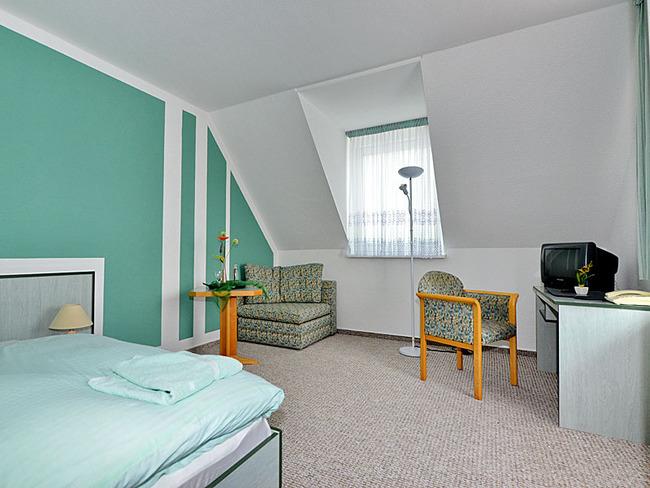Doppelzimmer mit Sitzecke