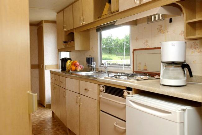 Mobilheim - Küche