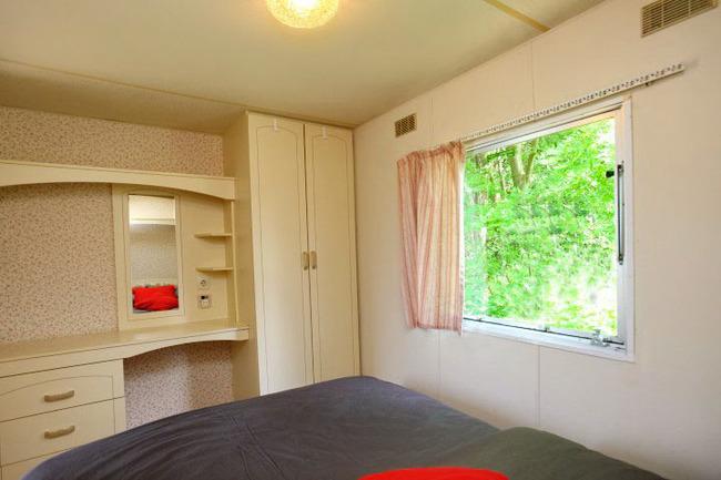 Mobilheim - Schlafzimmer