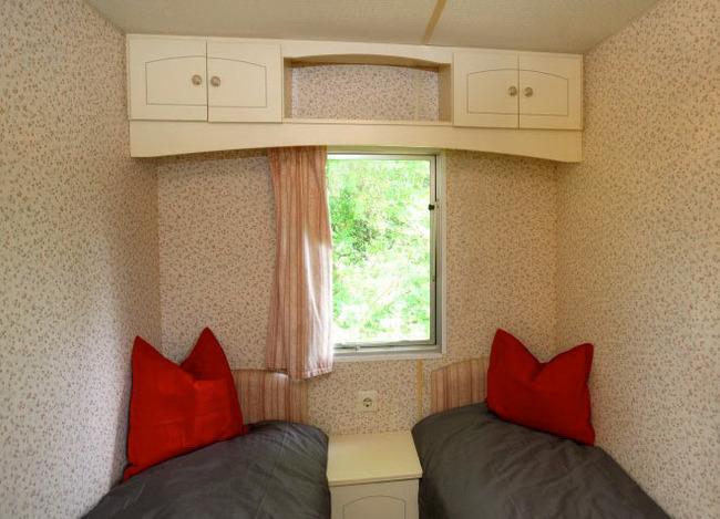 Mobilheim - Einzelbetten