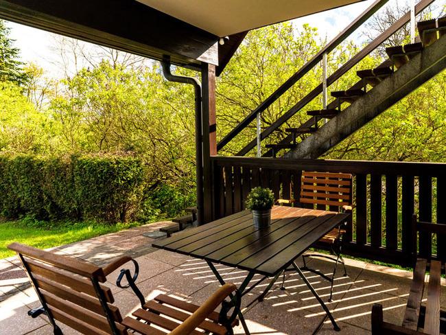 Ferienwohnung - Terrasse