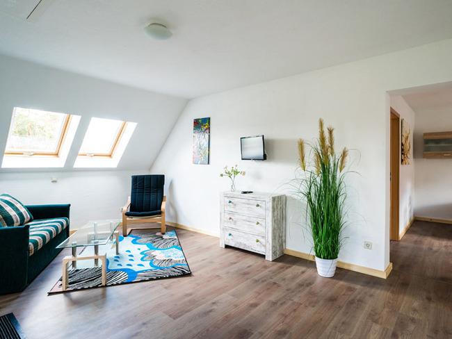 Ferienwohnung - Wohnraum