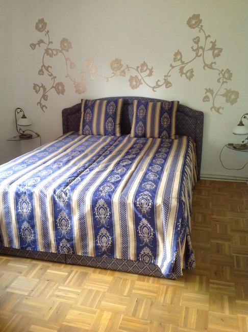 Fewo Seeblick Schlafzimmer mit Doppelbett