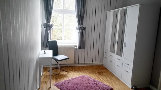 Fewo Weisin Kleiderschrank im Schlafzimmer
