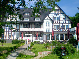 Blick auf Hotel Hitthim
