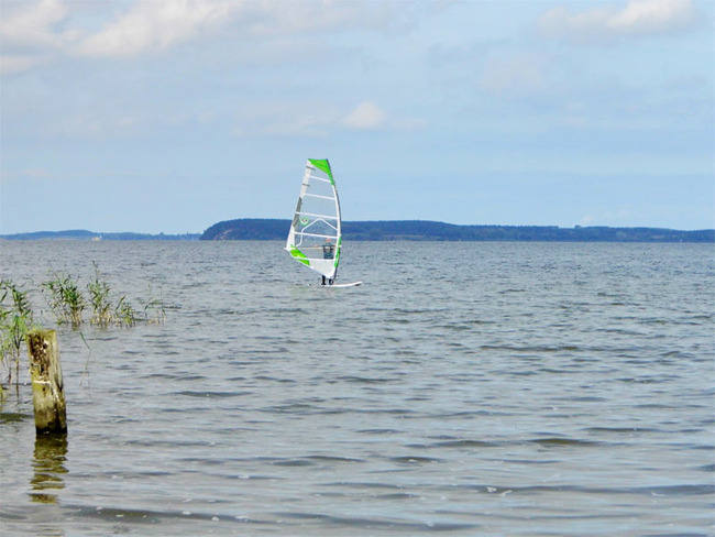 Surfer auf dem Wasser