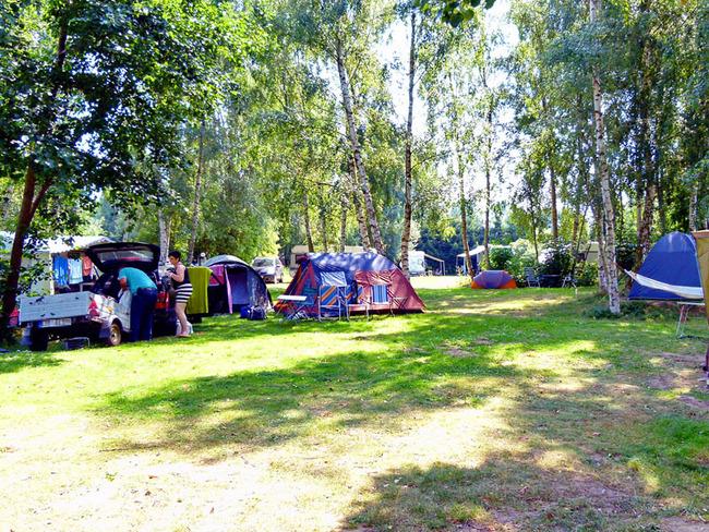 Stellplätze für Zelte im Grünen - sonnig, halbschattig und schattig