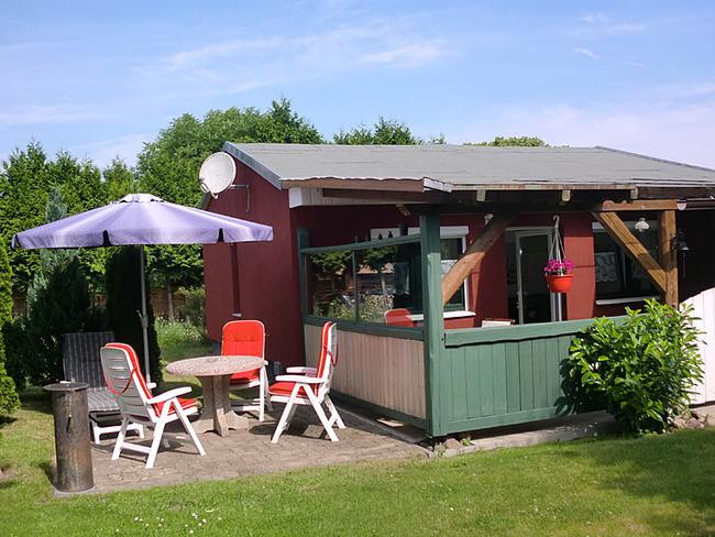 Ferienhaus Terrasse mit Sitzecke