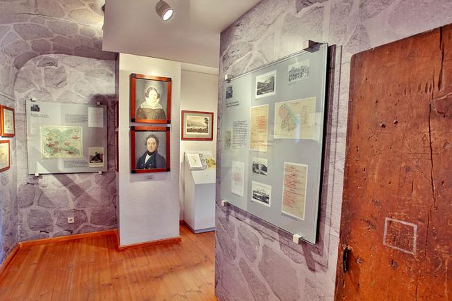 In der Ausstellung - Festungszeit