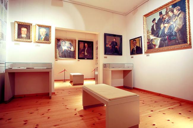 Ausstellung vom berühmten Maler Ernst Lübbert